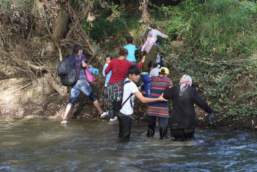 Põgenikemassid ründavad  Horvaatiat