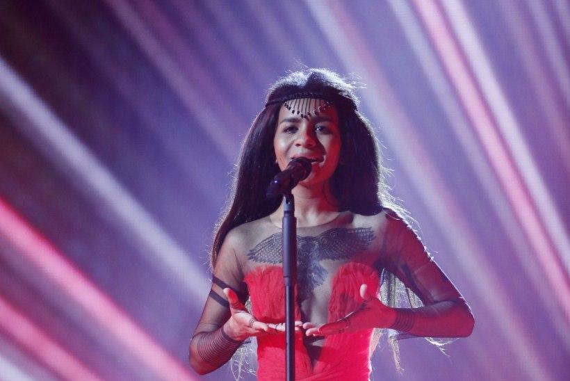 Zelmerlöwi kontserti soojendab Läti eurolauljatar