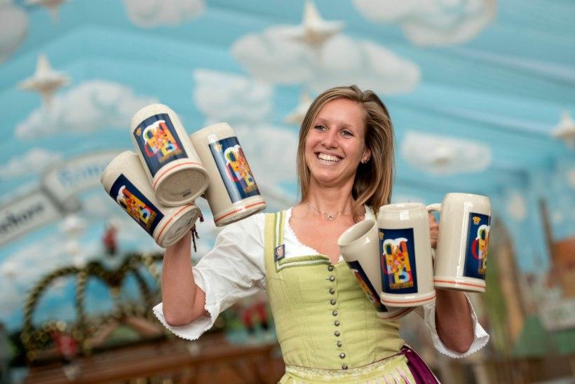 Münchenis algab traditsiooniline Oktoberfest