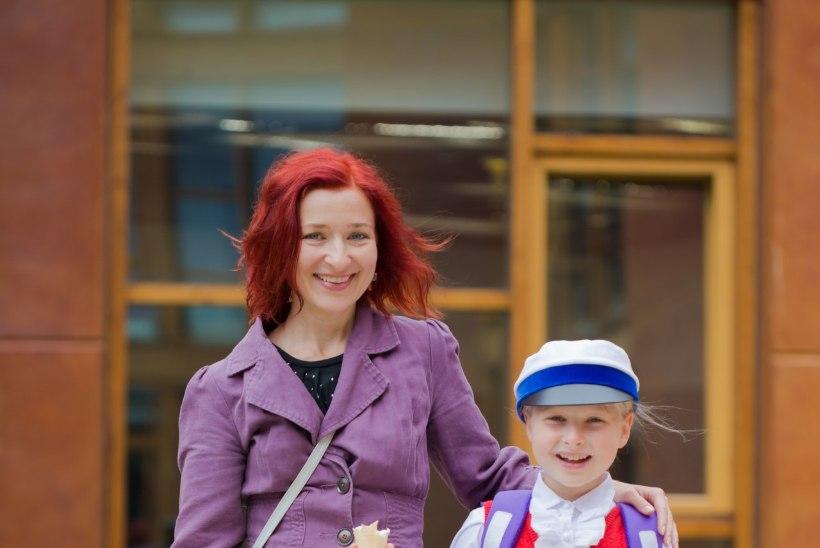 Kelli Uustani: minul oli esimese koolipäeva elevust vist isegi rohkem kui Johannal