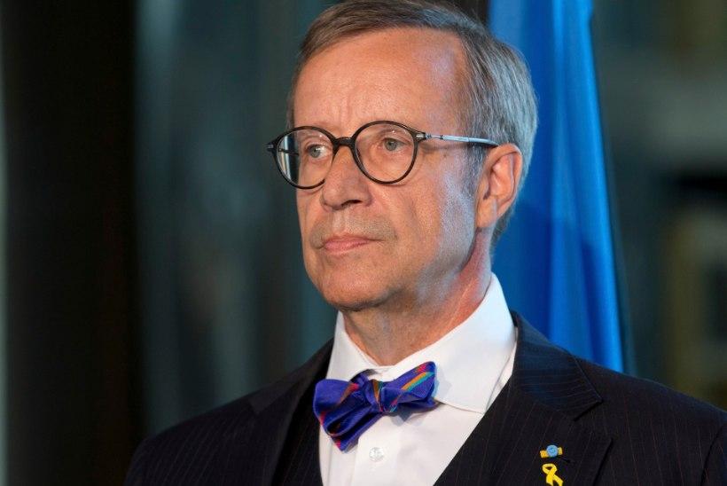 President Ilvesel diagnoositi puukborrelioos