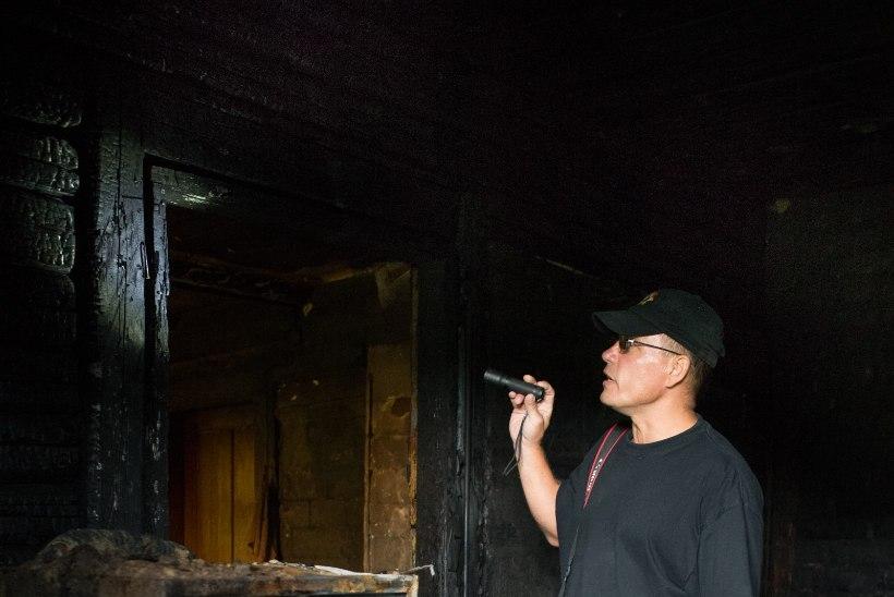 Külmkapp pani maja põlema. Eakas naine päästeti