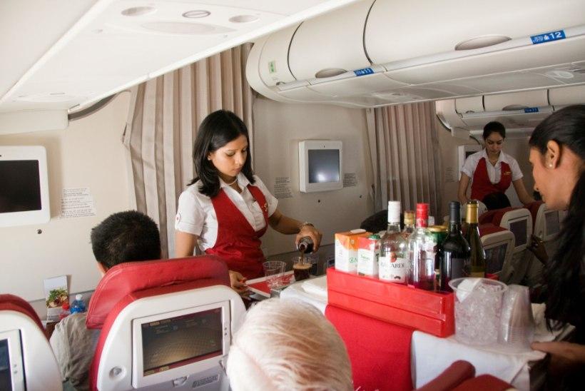 Air India stjuardessid on liiga paksud