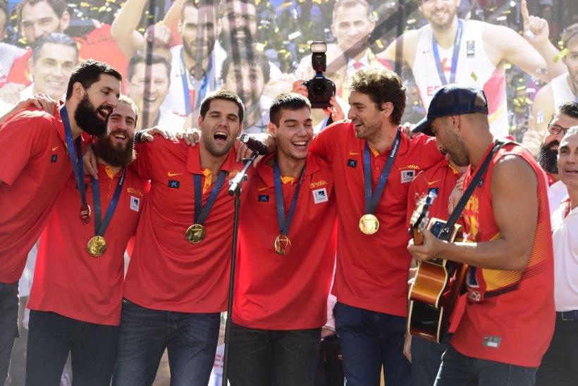 Tehke järele: Hispaania kossukoondise 10 medalit 15 aastaga!