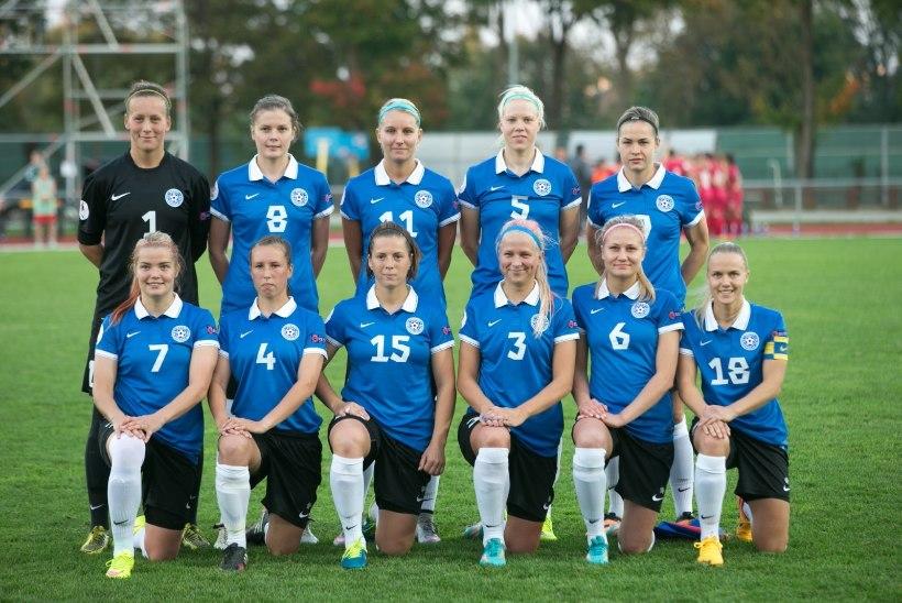JÄRELVAADATAV | Eesti jalgpallinaiskond kaotas MM-pronksile Inglismaale 0:8