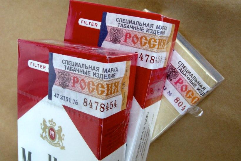 Salasigarettide osakaal Eesti tubakaturul on 17,4 protsenti