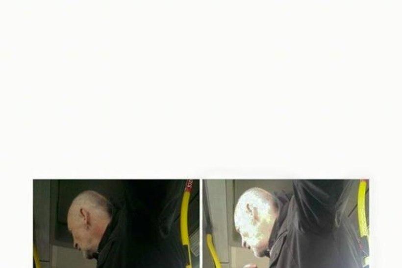 Võõras mees katsus bussis väikest poissi