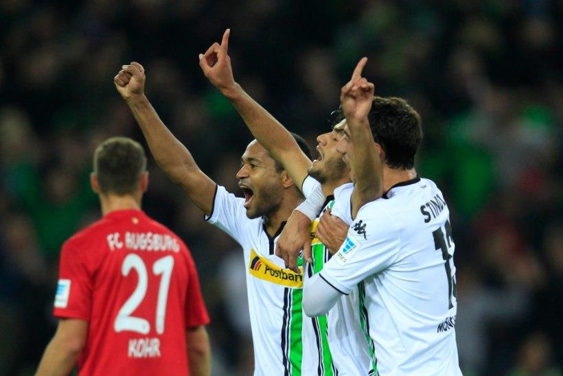 Seni punktita sats hävitas Klavani 100. Bundesliga mängus Augsburgi
