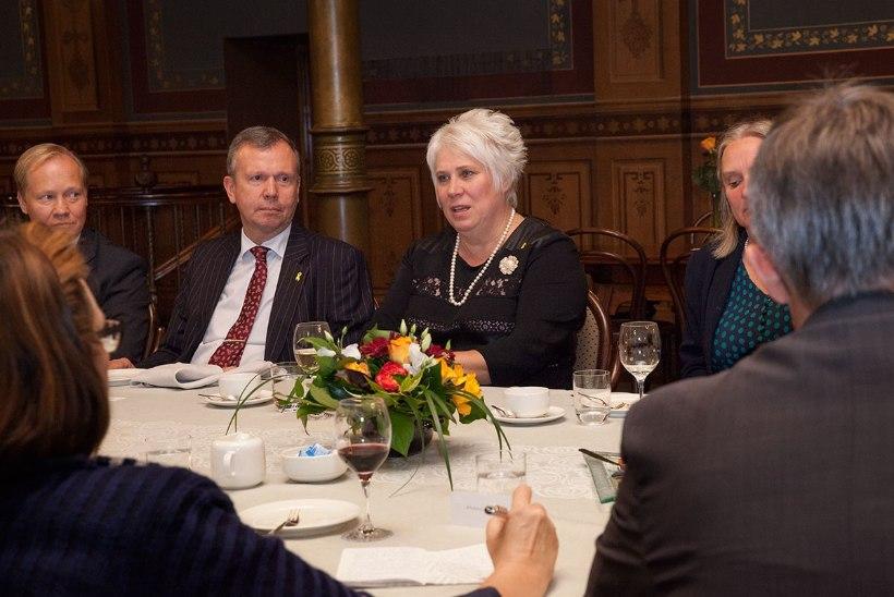 FOTOD | Kaljuranna Soome visiidi põhiteemadeks oli julgeolek ja rändekriis