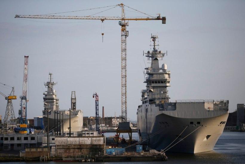 Prantsusmaa müüb Mistralid Venemaa soovitusel Egiptusele