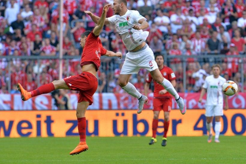 Ragnar Klavan ja Augsburg langesid Bundesligas väljalangemistsooni