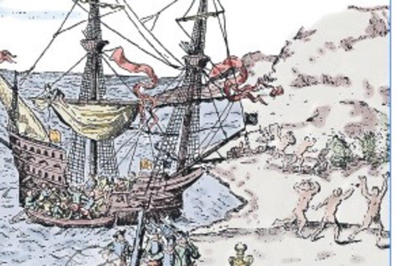 Kuidas käputäis eurooplasi Ameerika vallutasid ehk rahvaste rännetega juba asustatud aladele on enamasti kaasnenud konflikt