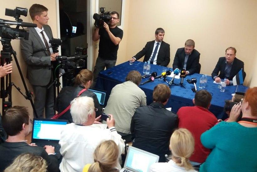 ÕHTULEHT OTSE: ESTON KOHVER ON KODUS! Loe, mida Eston Kohver eestlastele ütles!