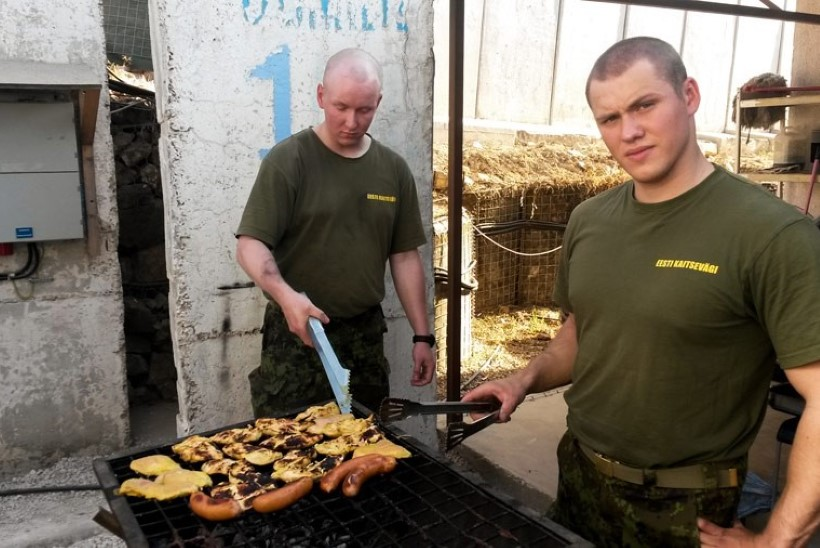 FOTOD | Eesti kaitseväelased Liibanonis on tagasi At Tiri põhibaasis
