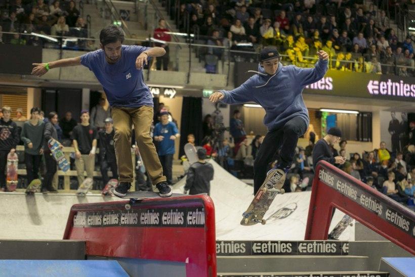 Simple Sessionil nähtud rulasõit ühe sammu kaugusel olümpiast!