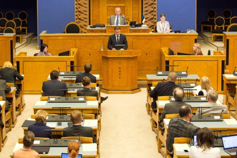 FOTOD | PEAMINISTER RÕIVAS EELARVEKÕNES: valitsus jätkab vastutustundlikul kursil