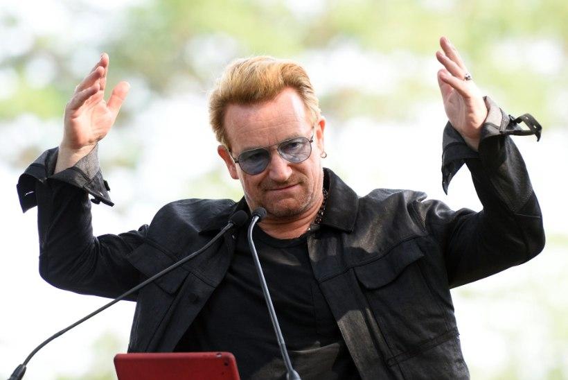 Bono ei saa enam kitarri mängida