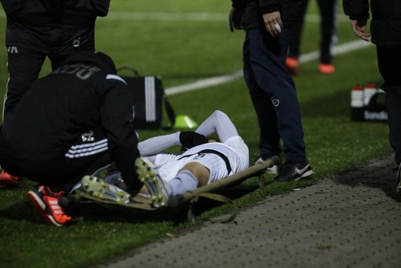 FOTOD | Kalju võitu jäi tumestama võtmemängija Hidetoshi Wakui vigastus