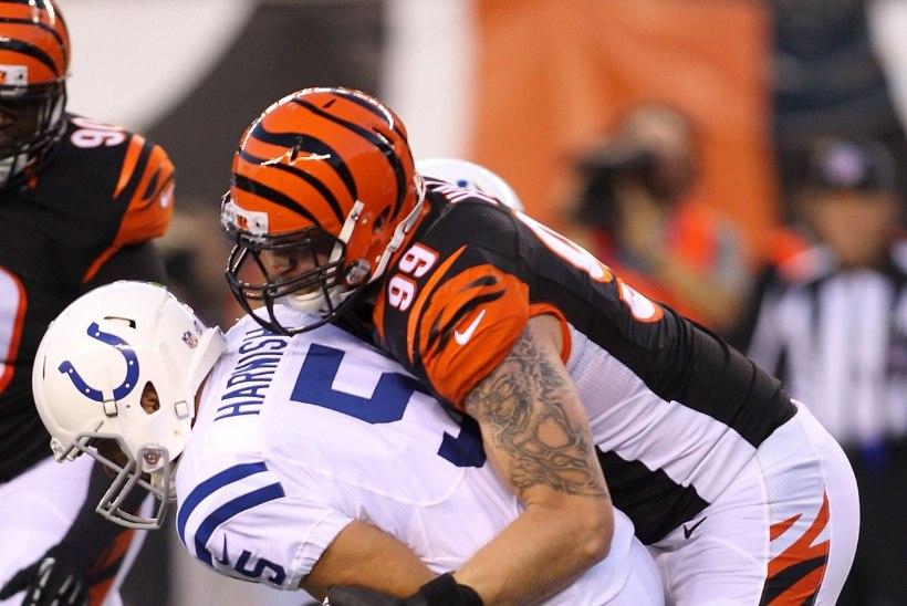 Bengals võitis Coltsi. Kas Hunt mängis klubi eest oma viimase mängu?