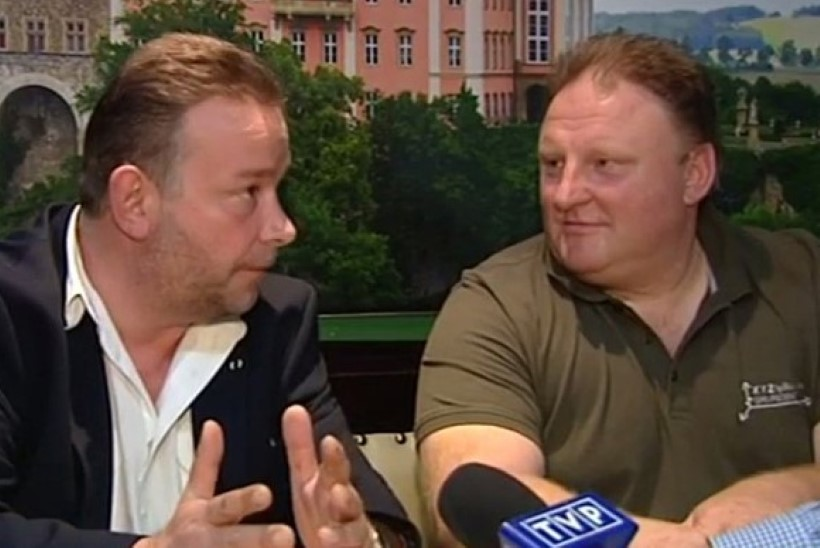 Natside kullarongi leidjad Poola TVs