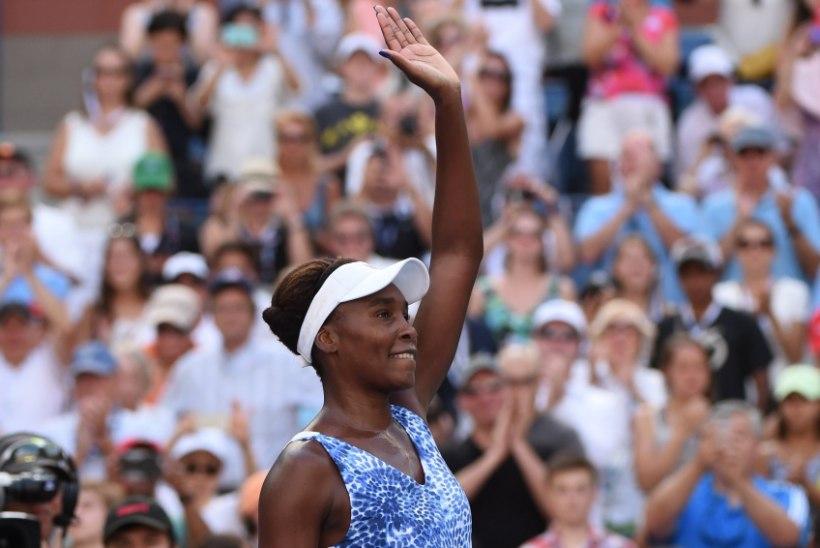 Venus Williams: Anett on väga andekas!