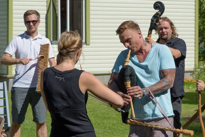 Tanel Padar võttis endise naabriplika Kadri Voorandi õhutusel taas torupilli kätte