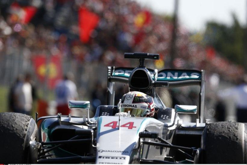 Itaalia GP võit jäeti siiski Hamiltonile