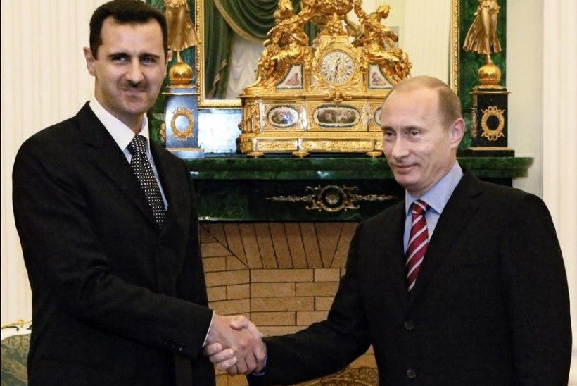 Putin rajab Süüriasse suure õhuväebaasi