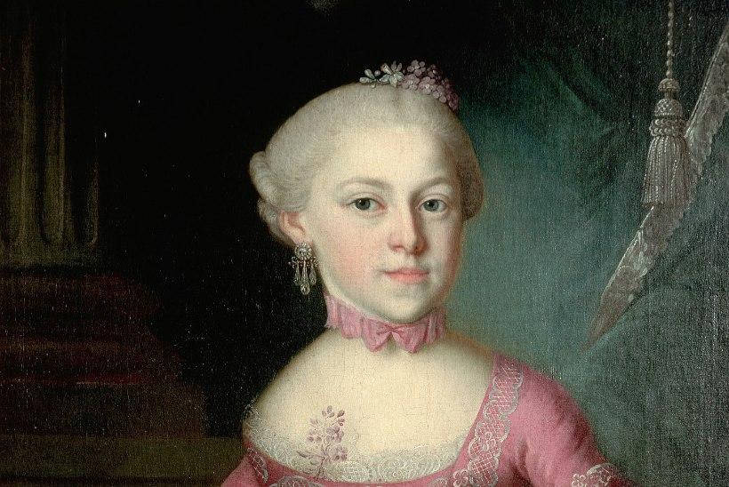 Kas Mozarti varajased teosed komponeeris tema õde?!