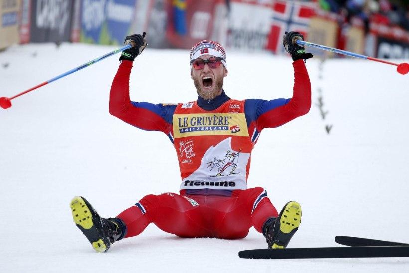 Tour de Ski tänavune võidumees kemples 2009. aastal Jaak Maega