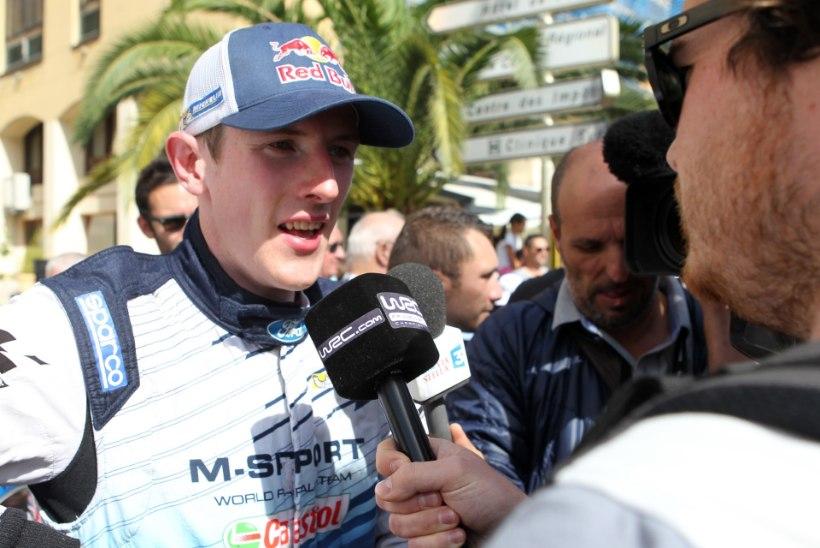 Tänaku endine tiimikaaslane Elfyn Evans: olen šokeeritud, et mind WRC-autost välja tõsteti