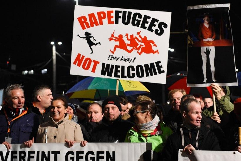 Saksa paremäärmuslased lubavad ahistatud naiste eest kätte maksta