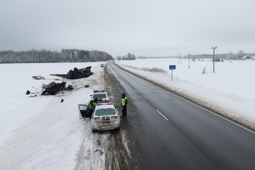 Eesti ehitusärimees hukkus Lätis avariis