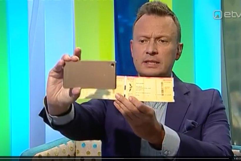"""Foto """"Eesti laulu"""" piletist võib kurjasti kätte maksta"""