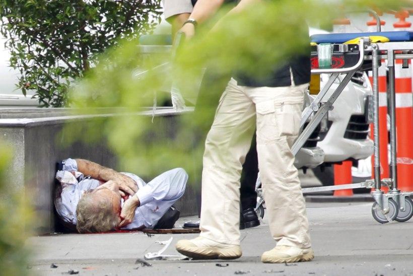 Jakartas ründasid terroristid kaubanduskeskust