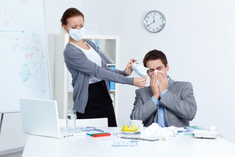 Gripiviirused on asunud liikvele