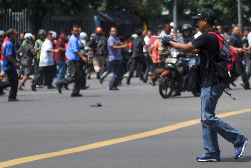 Jakarta terrorirünnakud korraldas Islamiriik