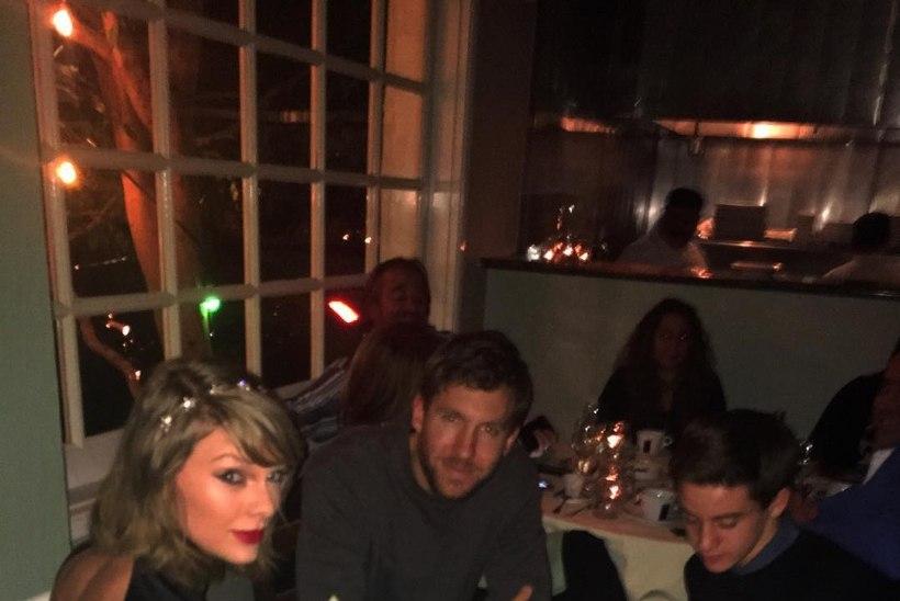 VIIES RATAS VANKRI ALL: fänn rikkus Taylor Swifti ja Calvin Harrise romantilise õhtusöögi