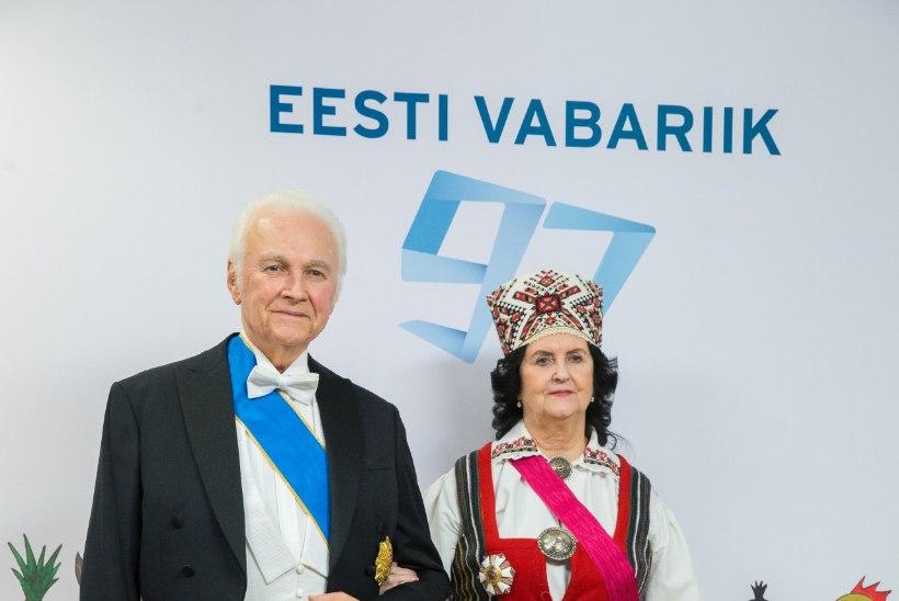 TV3 VIDEO | Presidendi vastuvõtule minev Ingrid Rüütel: mulle isiklikult on Ieva Ilves sümpaatne