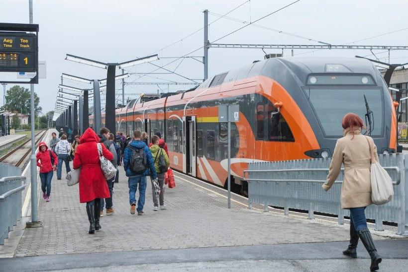 15. veebruarist muutuvad rongisõidu hinnad