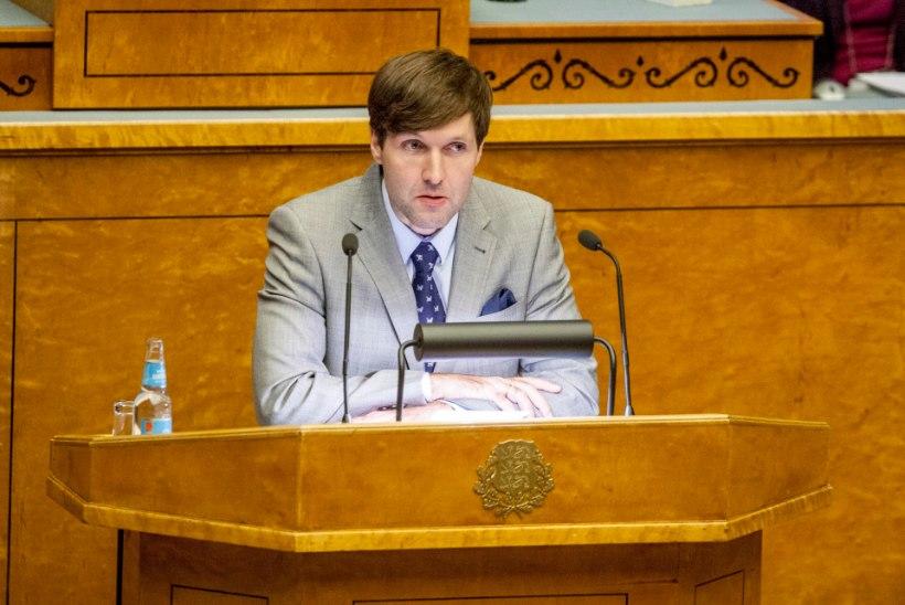 EKRE esitas eelnõu toetada ka presidendi ekskaasat Evelini rahaliselt
