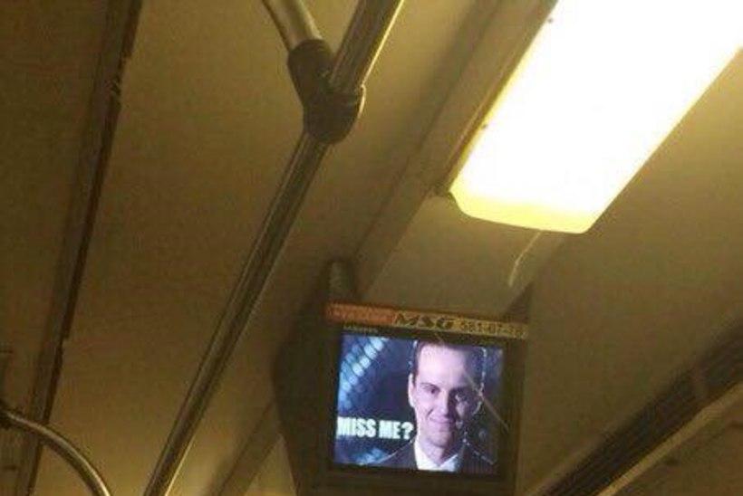 Moriarty ilmus välja Kiievi metroos