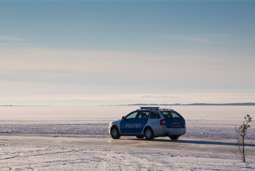 VIDEO | BBC uudisekünnise ületas Eesti jäätee