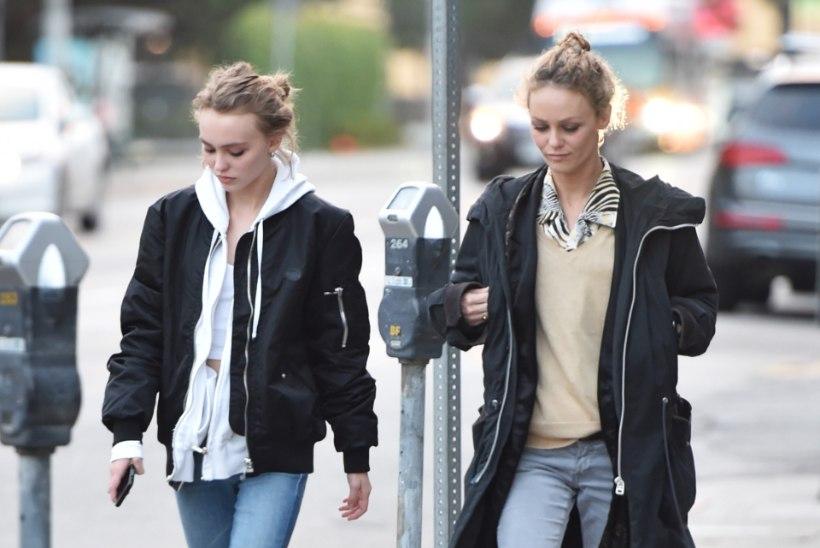 PILTUUDIS | Nagu kaks tilka vett - Vanessa Paradis ja Lily Rose Depp