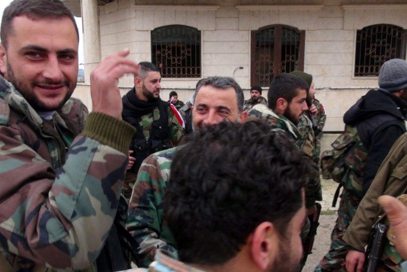 Süüria valitsusvägede salarelv - mootorratas