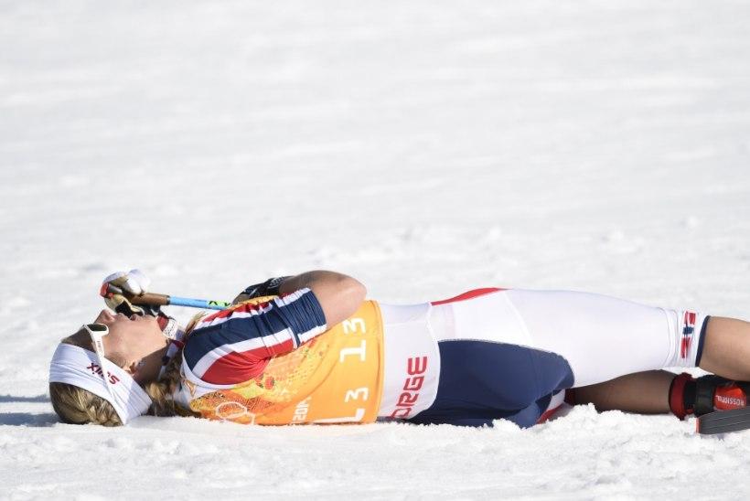 ÄREVAD HETKED NORRA LEERIS: Jacobsen kukkus Tour de Skil kokku