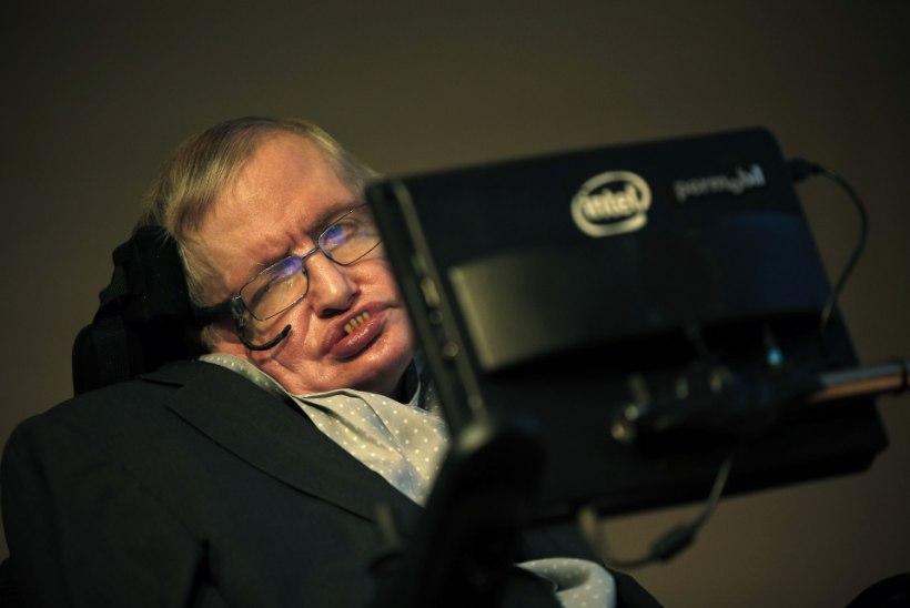 Tippfüüsik Stephen Hawking: inimkond võib end järgmise sajandi jooksul hävitada