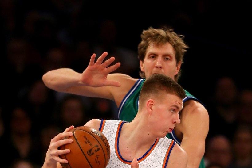 NBA pole veel näinud mängijat nagu Kristaps Porzingis?