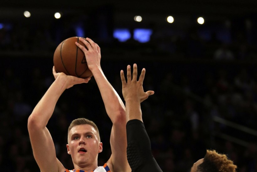 Läti NBA ime nimega särke on müüdud rohkem kui Kevin Duranti ja James Hardeni omi