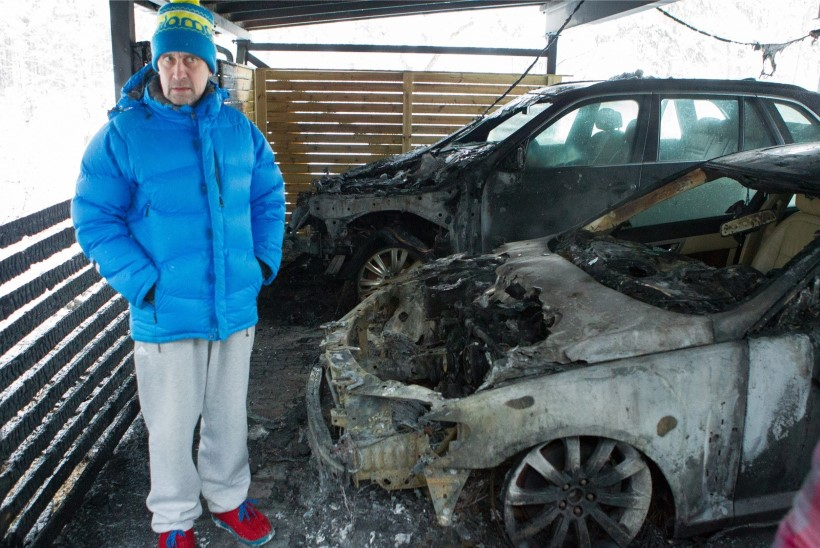 Allar Levandi põlengust: Suusad on õues alles, millegagi on ikka liikuda